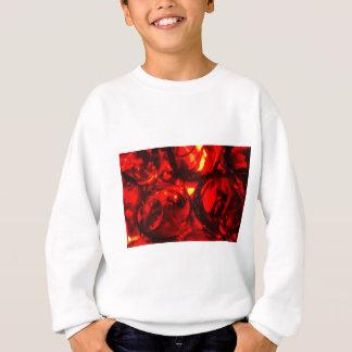 Abstract balls of gel sweatshirt