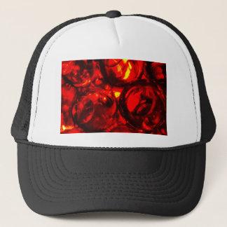 Abstract balls of gel trucker hat
