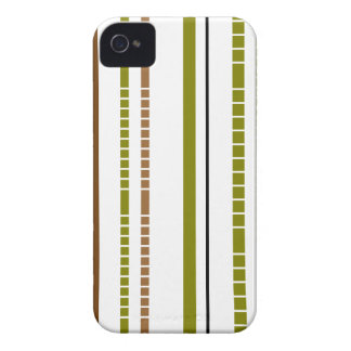 Abstract Bamboo Stripe Design iPhone 4 Case-Mate Cases