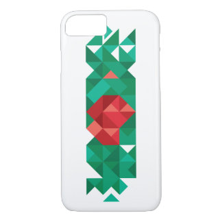 Abstract Bangladesh Flag,  Poly Flag Art iPhone 8/7 Case