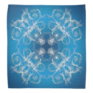 Abstract baroque style ornament/texture. bandana