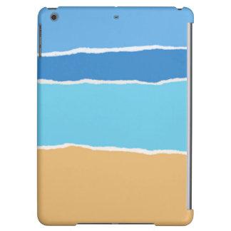 Abstract beach, sea and sky iPad air cover