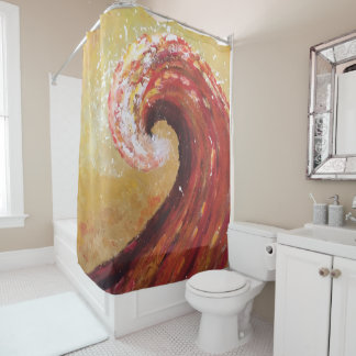 Abstract Beach Wave Fine Art Painting