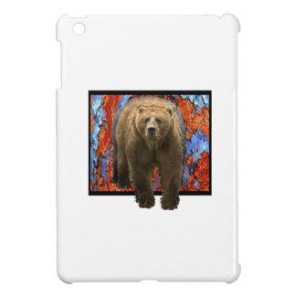 Abstract Bear iPad Mini Covers