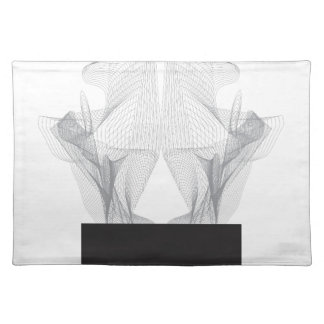 Abstract Bear Skull Placemat