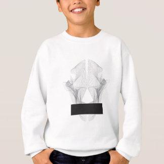 Abstract Bear Skull Sweatshirt