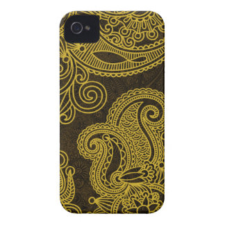 Abstract beautiful Indian floral pattern Case-Mate iPhone 4 Case