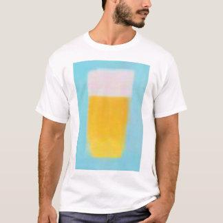 abstract beer tee