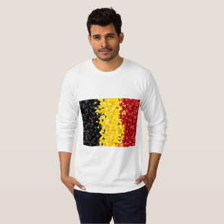 Abstract Belgium Flag, Belgian Colors shirt