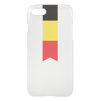 Abstract Belgium Flag, Belgian Ribbon Phone Case