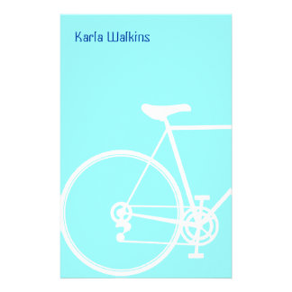 Abstract bicycle Stationery