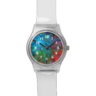 Abstract Big Bangs 001 Numbers Wrist Watch