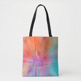 Abstract Big Bangs 002 Multicolored Tote Bag