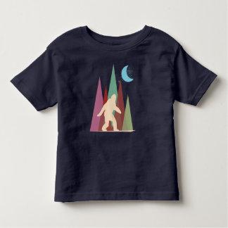 abstract big foot toddler t-shirt