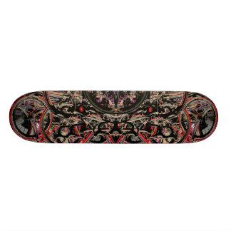 Abstract Bikes Skateboard