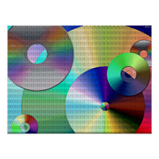 Abstract Binary Disks Poster