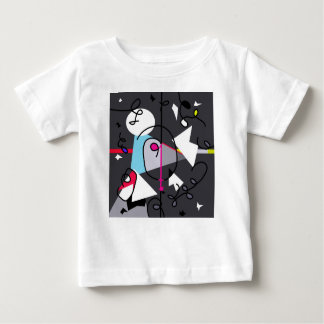 Abstract bird baby T-Shirt