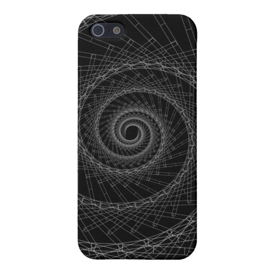 abstract black and white case for the iPhone 5