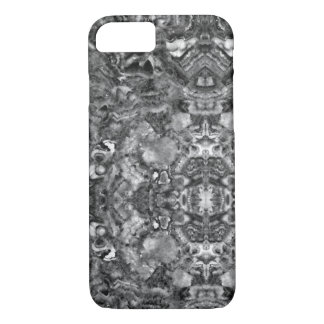 abstract black and white quartz iPhone 8/7 case