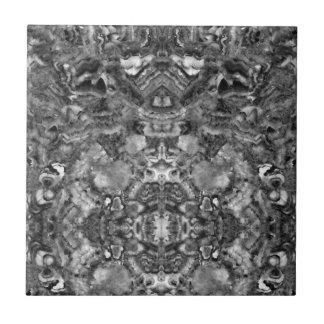 abstract black and white quartz tile
