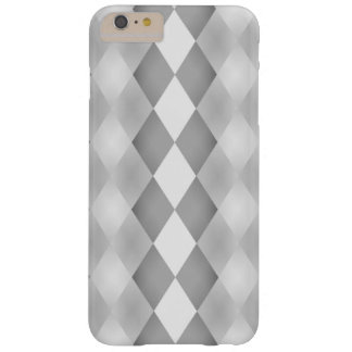 Abstract Black and White Square Pattern Barely There iPhone 6 Plus Case
