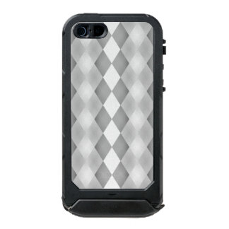 Abstract Black and White Square Pattern Incipio ATLAS ID™ iPhone 5 Case