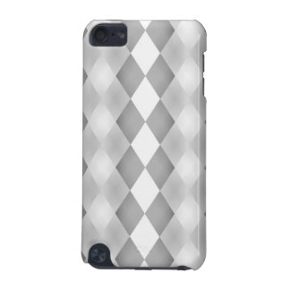 Abstract Black and White Square Pattern iPod Touch (5th Generation) Cover