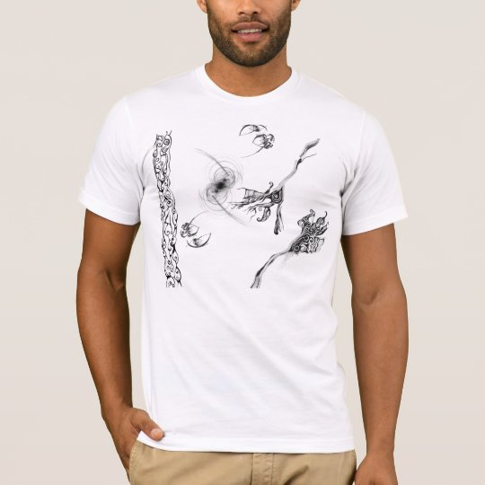 Abstract black and white T-Shirt