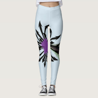 Abstract Black Arrows Leggings