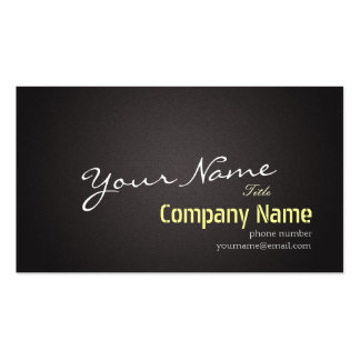 Abstract Black Linen Fabric Background Elegant Business Card