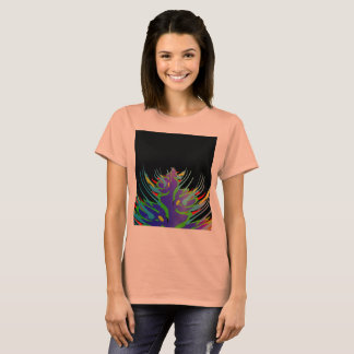 Abstract, black, multi color, with claws T-Shirt