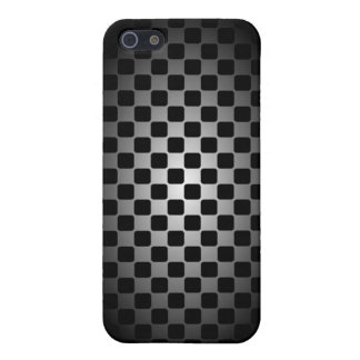 Abstract black & white checkerboard case for him cover for iPhone 5/5S