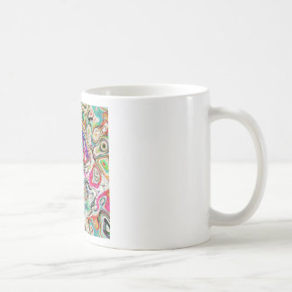 Abstract Blend of Colors Coffee Mug