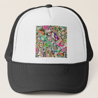 Abstract Blend of Colors Trucker Hat