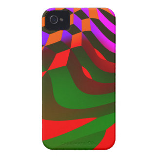 Abstract Blocks iPhone 4 Case