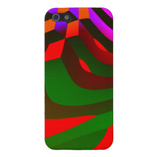 Abstract Blocks iPhone 5/5S Covers