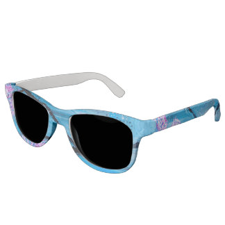 Abstract Blossoms Spring Sunglasses