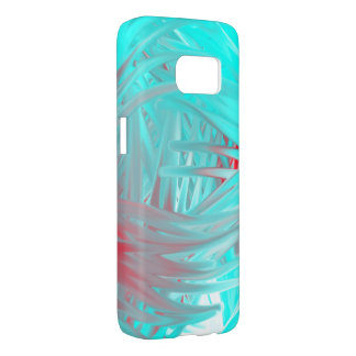 Abstract Blue and red Samsung S7 Samsung Galaxy S7 Case