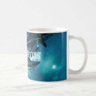Abstract-Blue Aquarius Basic White Mug