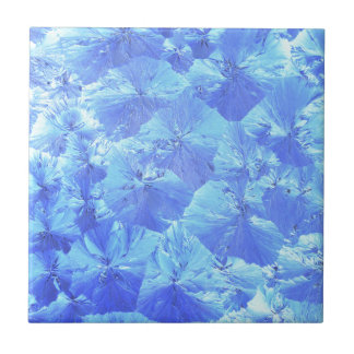 Abstract blue background ceramic tile