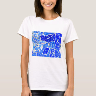 Abstract blue background T-Shirt