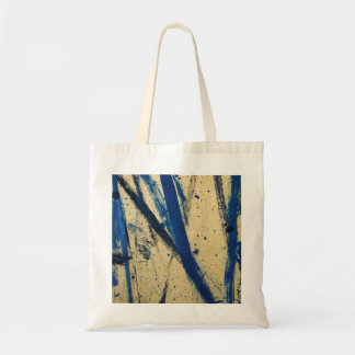 Abstract Blue Budget Tote Budget Tote Bag
