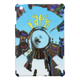 Abstract Blue Case For The iPad Mini