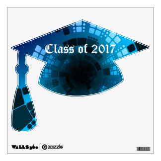 Abstract Blue Class of Wall Sticker