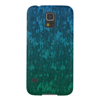 abstract blue green galaxy s5 covers