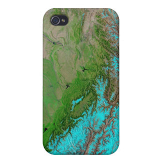 Abstract Blue Green iPhone Case iPhone 4/4S Cases