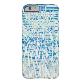 Abstract Blue iPhone Case design