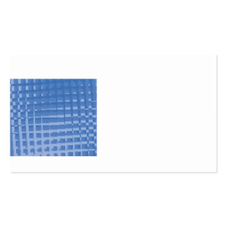 Abstract Blue Mosaic Tiles Muted Blues Pattern Business Cards