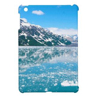 Abstract blue mountains landscape ice Alaska iPad Mini Cases