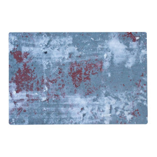 Abstract Blue Painting Laminated Placemat